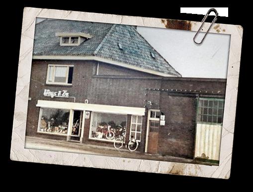 Fietsenwinkel met historie